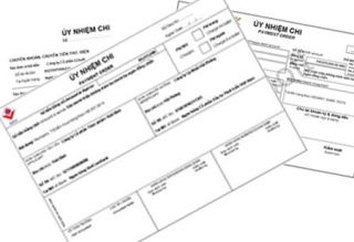 Hướng dẫn về chứng từ thanh toán qua ngân hàng