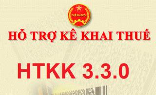 Thông báo về việc Nâng cấp ứng dụng Hỗ trợ kê khai tờ khai mã vạch (HTKK) phiên bản 3.3.0