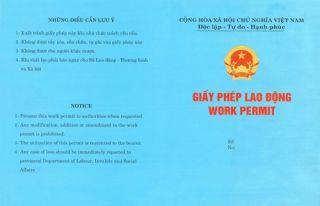 Hướng dẫn làm giấy phép lao động cho người lao động nước ngoài