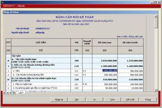 Hướng dẫn lập bảng cân đối kế toán  theo quyết định  15/2006/QĐ- BTC