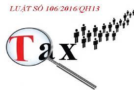 Luật số 106/2016/QH13 sửa đổi Luật thuế GTGT, Quản lý thuế và TTĐB