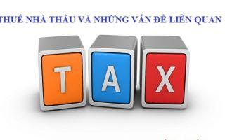 Công văn 9803/CT-TTHT  về thuế nhà thầu