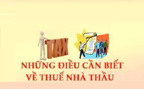 Đối tượng nào phải chịu thuế nhà thầu theo quy định?