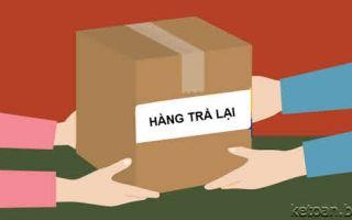 Hàng bán ra bị trả lại thì hóa đơn xử lý thế nào